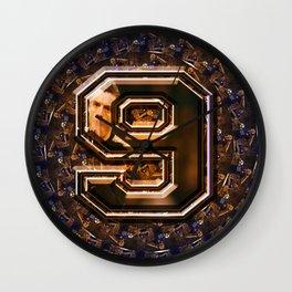 sport pattern Wall Clock