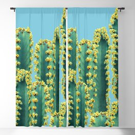 Adorned Cactus || #society6 #buyart #decor Blackout Curtain