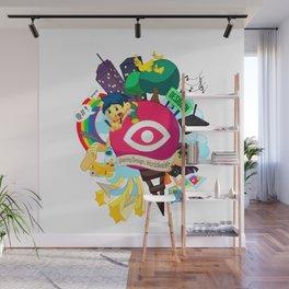 Designn Illustrated Wall Mural
