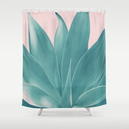 Blush Agave Finesse #1 #tropical #decor #art #society6 Shower Curtain