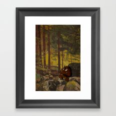 Shitmba Framed Art Print