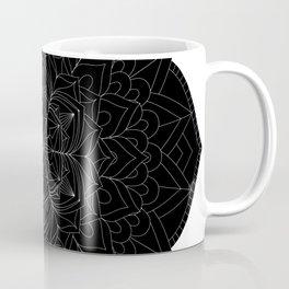 Tranquility | No. 1 | Black and white | Mandala Art Coffee Mug