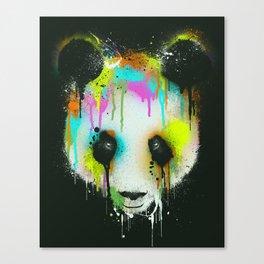 Technicolour Panda Canvas Print