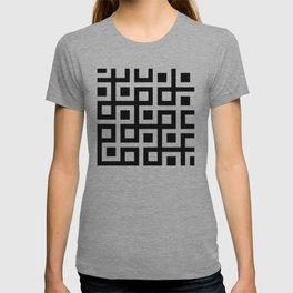 Geometric Pattern 33 (square loop) T-shirt