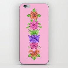 Floral Totem iPhone & iPod Skin