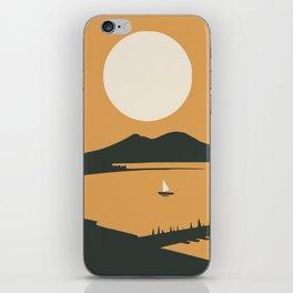 Big moon bay iPhone Skin
