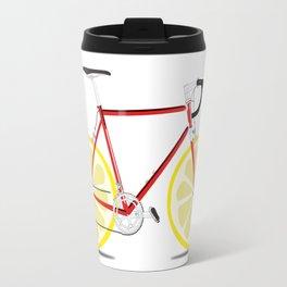 Single Lemon Speed Travel Mug