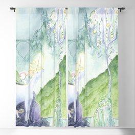 The Unicorn Tree Blackout Curtain