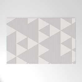 Triangles and Lines Welcome Mat