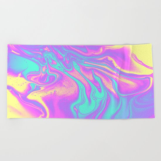 R U MINE ? Beach Towel
