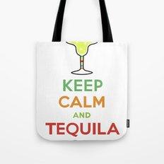Keep Calm Tequila - white Tote Bag