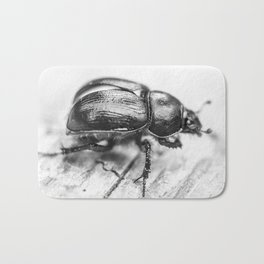 Black Beetle Bath Mat