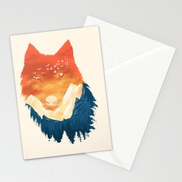 Wild Sunset Stationery Cards