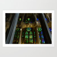 Sagrada Familia #9 Art Print
