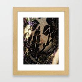 Magdalena Monroe as Gloria Swanson Framed Art Print