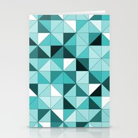teal Stationery Cards featuring teal  by Hannah