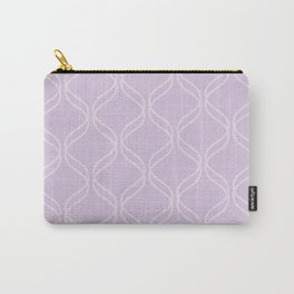 Double Helix - Light Purples #367 Carry-All Pouch