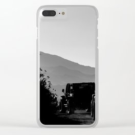 CHASING DAYLIGHT Clear iPhone Case