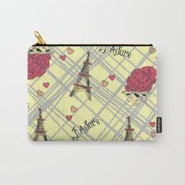 I Adore Paris Carry-All Pouch