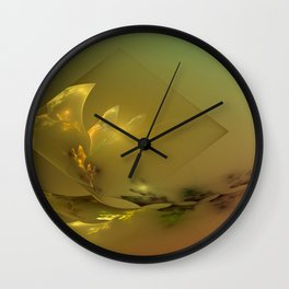 Light's coming Wall Clock