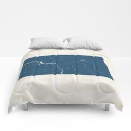 North Dakota Parks - v2 Comforters