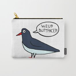 Wzup Buttface? Carry-All Pouch