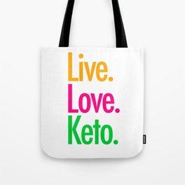 Live Love Keto Tote Bag