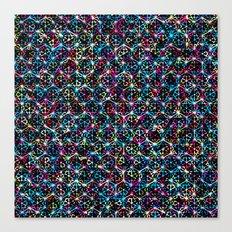 Stardust Geometric Art Print. Canvas Print