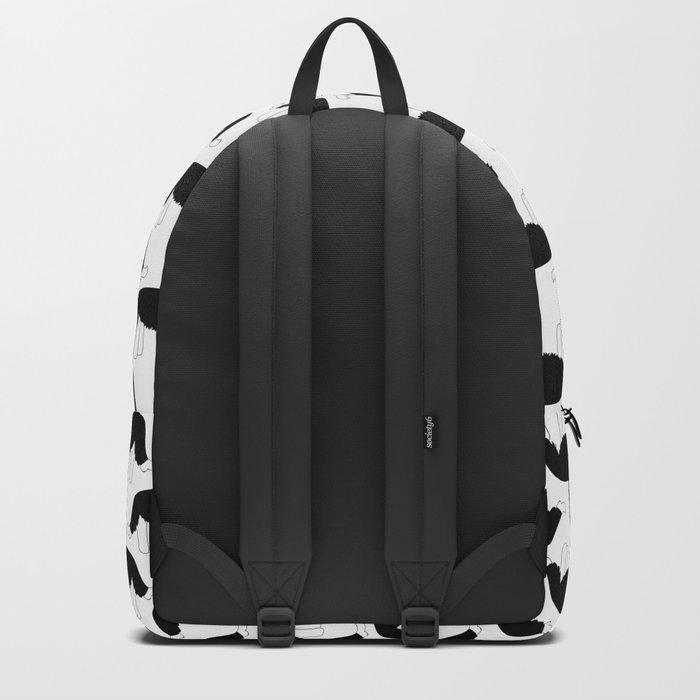 I love my Border Collie Backpack