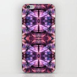 Purple Storm iPhone Skin