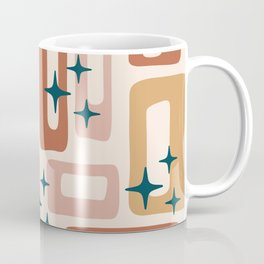 Retro Mid Century Modern Abstract Pattern 125 Coffee Mug
