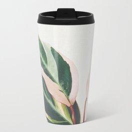 Pink Leaves III Travel Mug