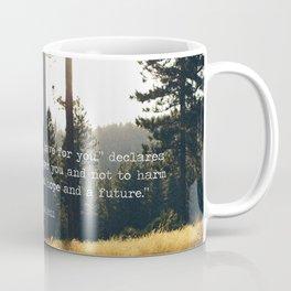 Golden Jeremiah 29:11 Coffee Mug