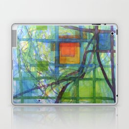 Captured Squares Laptop & iPad Skin