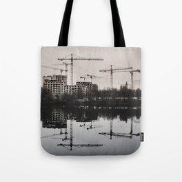 Industrial (retro postcard) Tote Bag