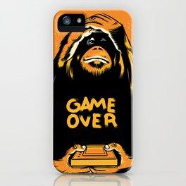 Orange Quick Foot iPhone Case