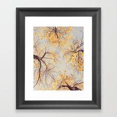 Autumn Sky Framed Art Print