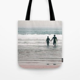 surf love Tote Bag