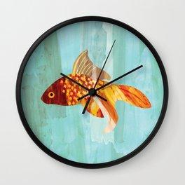 Little Fishy Wall Clock