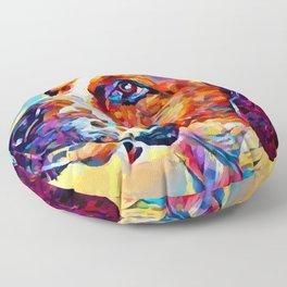 English Foxhound Floor Pillow