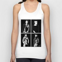 1975 Tank Tops featuring 1975. by Spazy Art