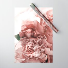 Blush Pink Floral Wrapping Paper