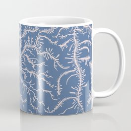 Ferning - Pink/Blue Coffee Mug