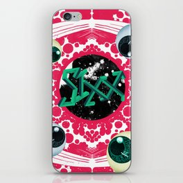 SIXX in Supersonic Pink iPhone Skin