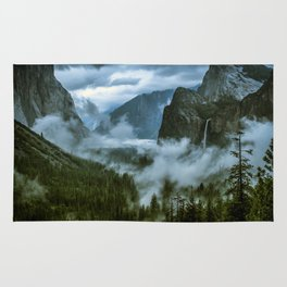 Yosemite After the Rain Rug