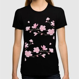 Cherry Blossom - Transparent Background T-shirt