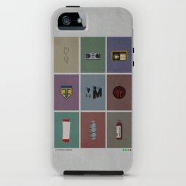 Fringe (colors) iPhone Case
