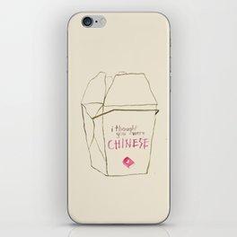 Lizzie Bennet #3 iPhone Skin