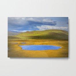 Patagonian Lakes Metal Print