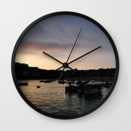 Edge of the land Wall Clock